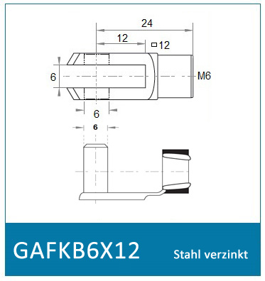GAFKB6X12